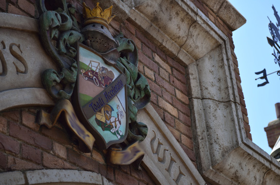Can You Finish the Words on Mr. Toad's Family Crest at Disneyland Park?