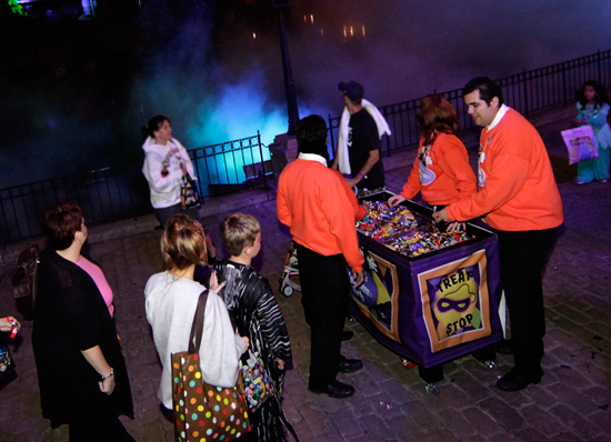 Go Trick-or-Treating at Disneyland Park During Mickey's Halloween Party at the Disneyland Resort