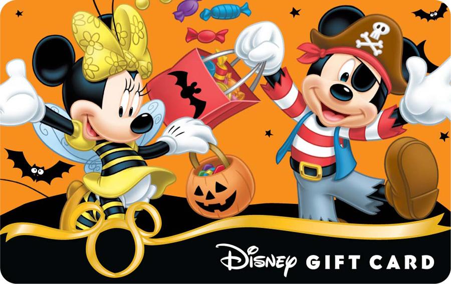 New Halloween 2012 Disney Gift Card Designs | Disney Parks Blog