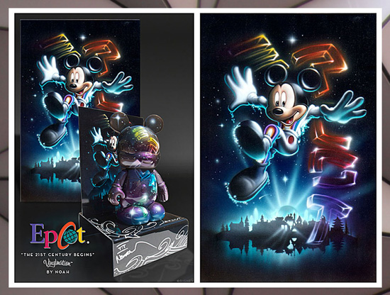 Commemorate the 30th Anniversary of Epcot With New Merchandise. Vinylmation Figures Will be Available Starting October 1