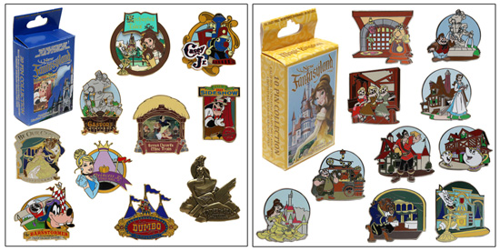 Mystery Pin Sets for New Fantasyland at Magic Kingdom Park