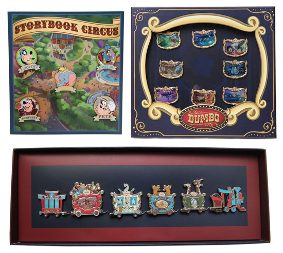 Pins for Storybook Circus in New Fantasyland at Magic Kingdom Park