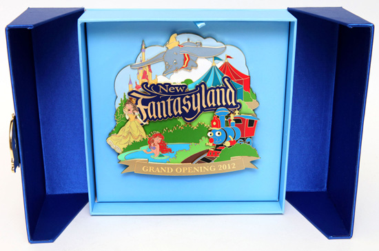 Jumbo Pin Commemorating the Grand Opening of New Fantasyland at Magic Kingdom Park