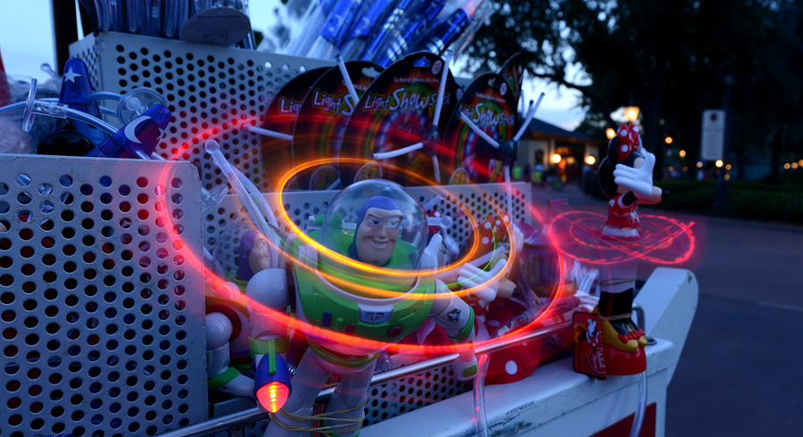 Disney Parks After Dark: Disney Toys Light Up the Night at Epcot