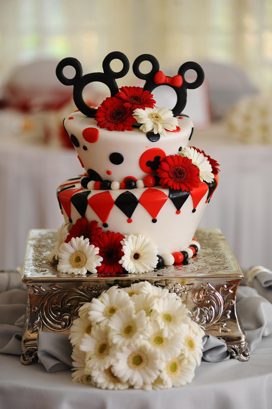 Image result for disney wedding cakes