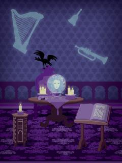 Madame Leota In The Haunted Mansion Disney Parks Blog