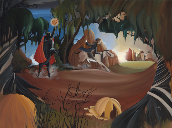 Katie Kelly to Debut 'Sleepy Hollow' Artwork at Disneyland Resort
