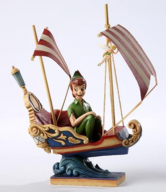 Peter Pan Sculpture by Jim Shore, Making an Appearance at Disneyland Resort in the Coming Months