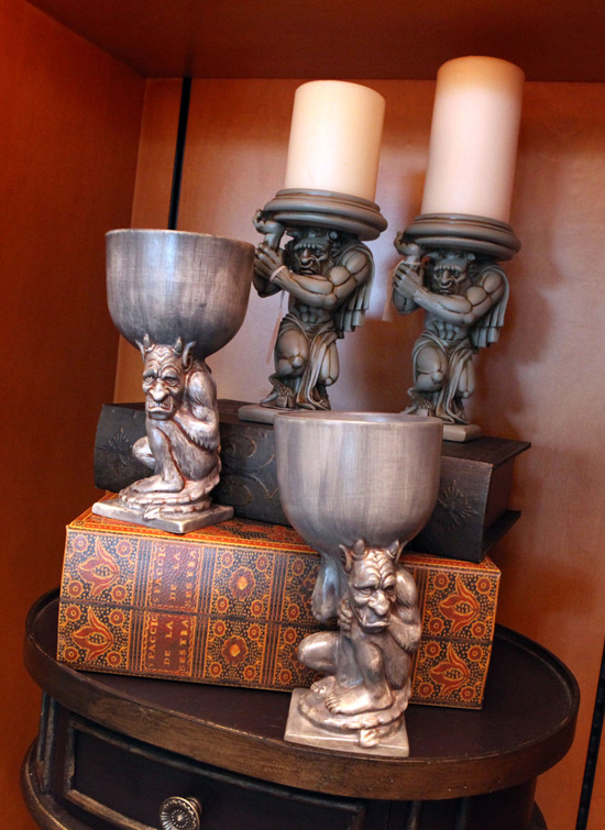Say Hello to New Fantasyland Merchandise at Bonjour! Village Gifts in Magic Kingdom, Including Minotaur Candle Holders