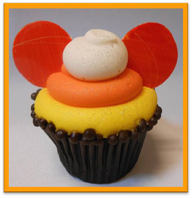 Wicked Good Halloween Treats at Disneyland Resort, Including the Candy Corn Cupcake