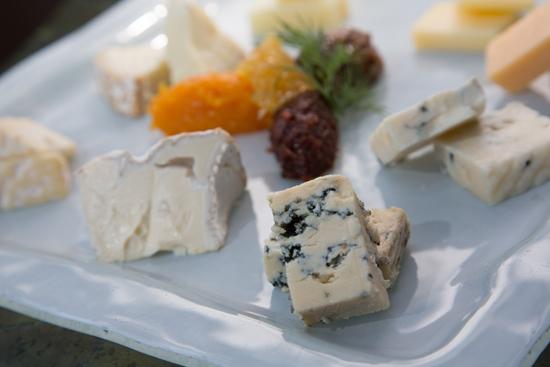 Variety of Cheeses Available from Napa Rose at Disney's Grand Californian Hotel & Spa at Disneyland Resort