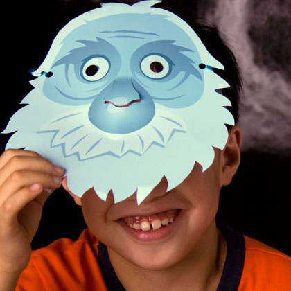 Make Your Own Haunted Mansion Ghost Masks