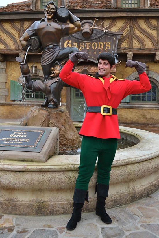 You'll Soon be Able to Meet Man Among Men, Gaston, in Belle's Village in New Fantasyland