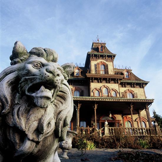 Phantom Manor at Disneyland Paris