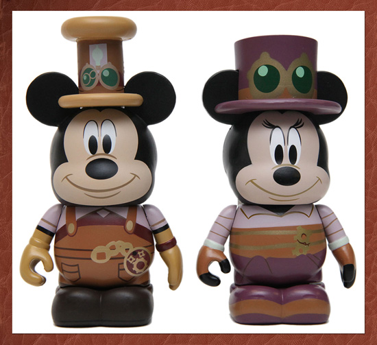 The Mechanical Kingdom Inspires New Merchandise at Disney Parks, Including These Vinylmation Figures