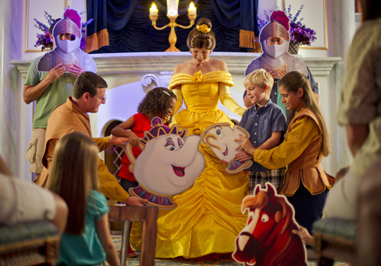 Enchanted Tales with Belle in New Fantasyland at Magic Kingdom Park
