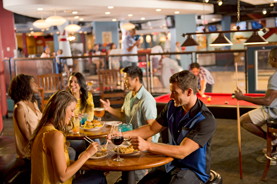 A Refreshing Spin on Alley Eats at Downtown Disney at Splitsville Lucky Lanes at Downtown Disney West Side