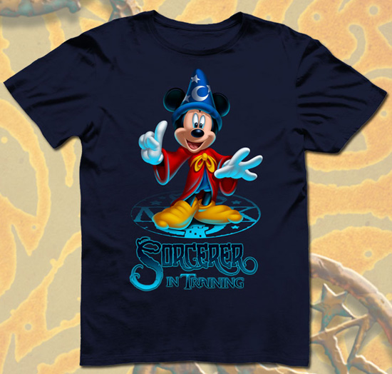 New Sorcerers of the Magic Kingdom Power Up Shirt for Kids