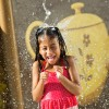"""New 'Alice In Wonderland'-Themed Kids' Water Play Area Opens at Disney's Grand Floridian Resort & Spa, Offering a Perfect Blend of """"Tea Party"""" and """"Pool Party."""""""