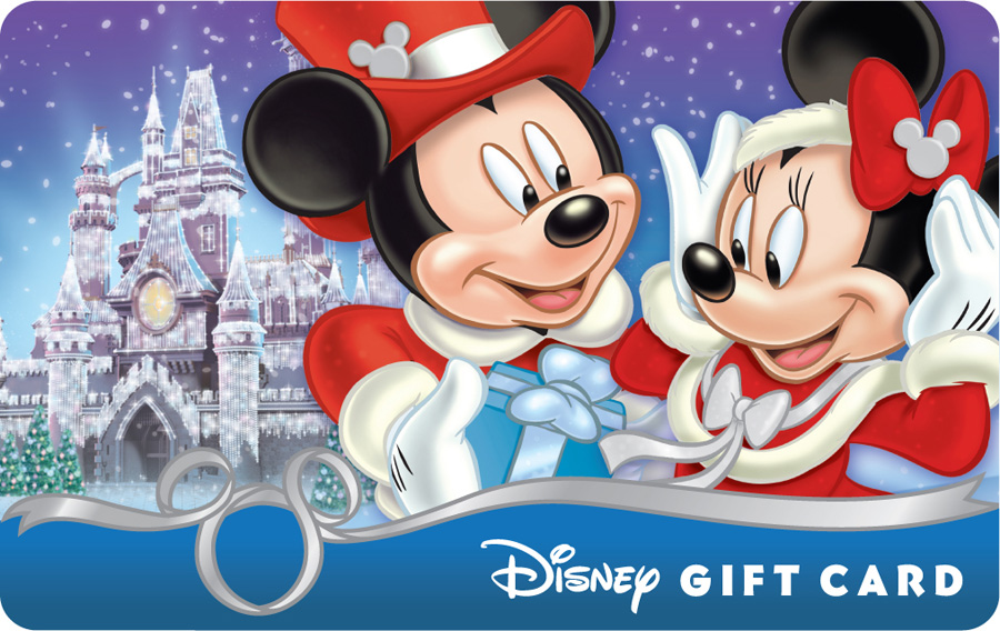 Give the Gift of Magic this Holiday Season with a Disney Gift Card ...