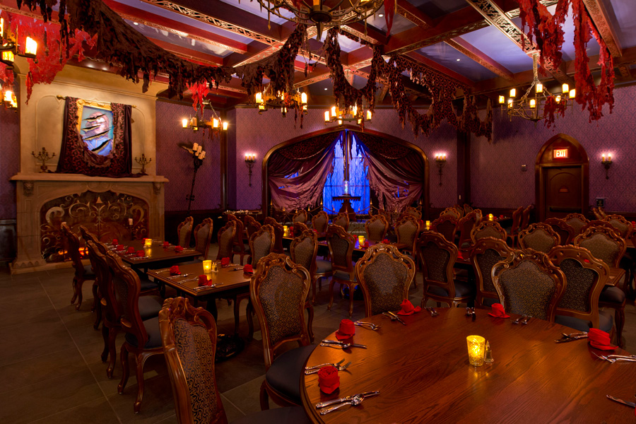 Menus now online for be our guest restaurant in new for 3 dining rooms at be our guest