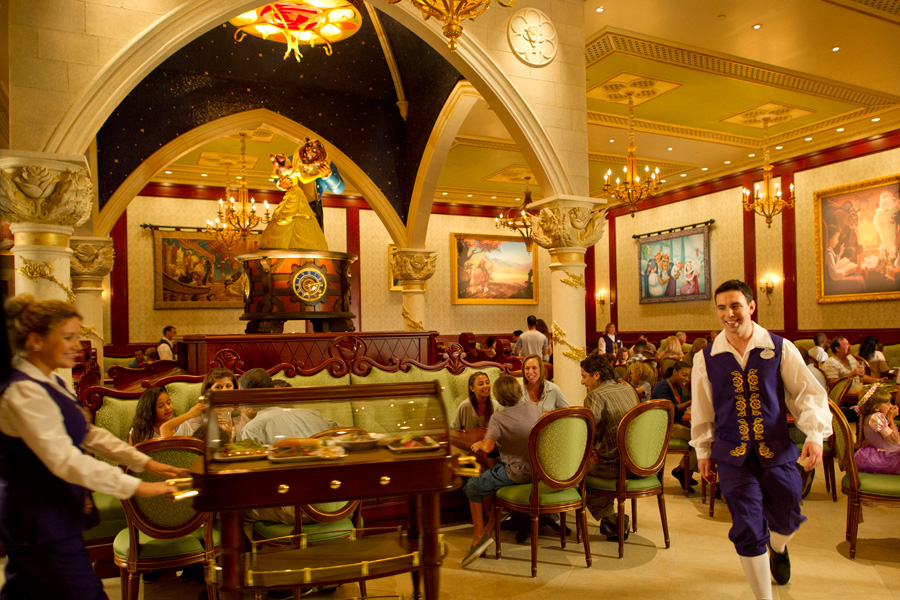 menus now online for be our guest restaurant in new fantasyland at