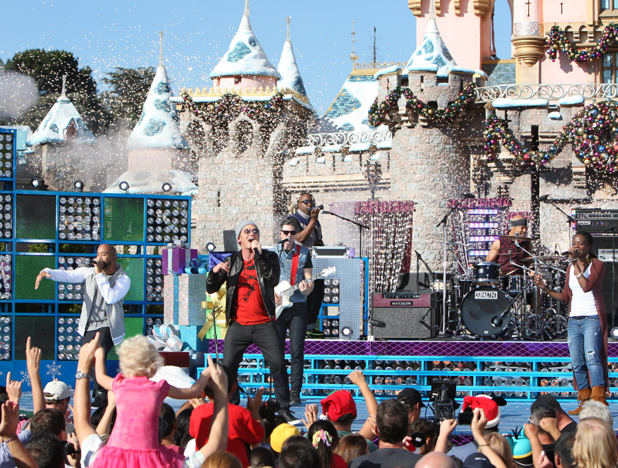 First Look: Mario Lopez, Backstreet Boys and More at Disneyland ...
