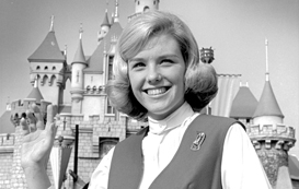 Disneyland Ambassador Shari Bescos Koch in 1969