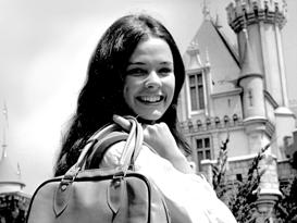 Disneyland Ambassador Emily Zinser Benedick in 1972