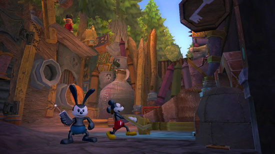 'Disney Epic Mickey 2: The Power of Two' Takes Players into Disneyland Resort History