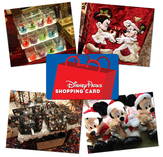The Disney Parks Shopping Card Is a Unique Gift for Merchandise Fans
