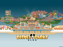 Desktop Wallpaper Celebrating the Expansion of Disney California Adventure Park