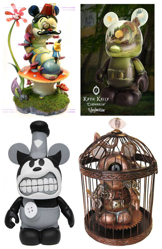 Fantastic Art Featured at 37th Festival of the Masters from November 9-11 at Downtown Disney at Walt Disney World Resort, Including a Variety of Custom One-of-a-Kind Figures