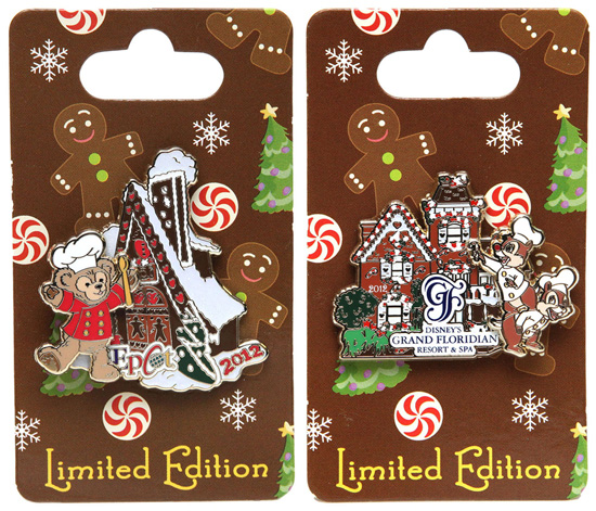 The Disney Pin Team Creates New Gingerbread House Pins Which Will be Released on November 15 at Various Locations