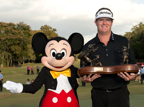Pro golfer Charlie Beljan at Disney Golf Classic at Walt Disney World Resort