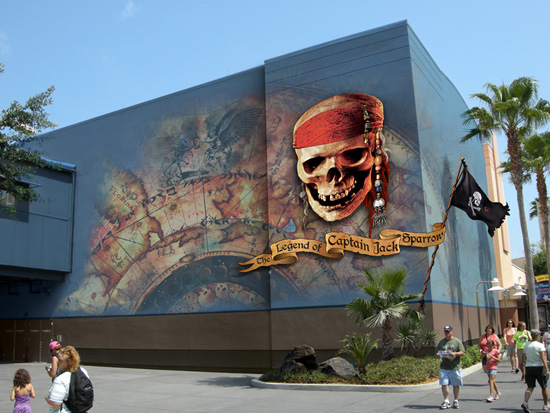 Pirates of the Caribbean: The Legend of Captain Jack Sparrow at Disney's Hollywood Studios