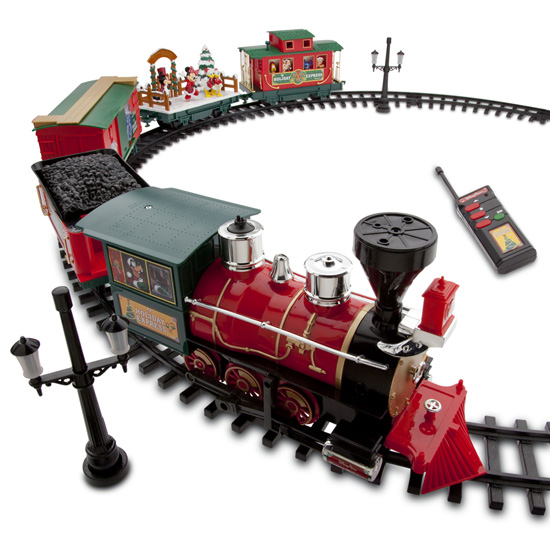 The Disney Parks Christmas Train Set