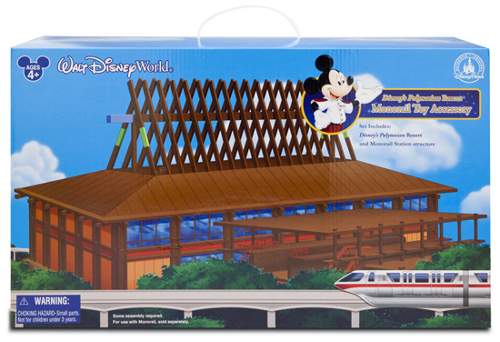 Disney's Polynesian Resort Playset Coming to Disney Parks