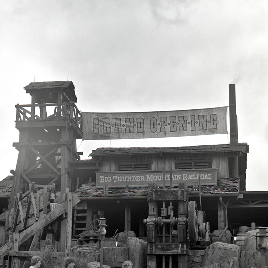 The Grand Opening of Big Thunder Mountain Railroad at Magic Kingdom Park in 1980