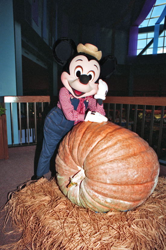 Mickey Mouse at The Land Pavilion in 1990