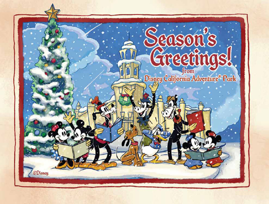 Last minute holiday shopping tips at the disneyland resort disney disney california adventure park artwork available for the holidays m4hsunfo