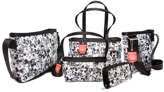 Minnie & Mickey in Love Seatbeltbag from HARVEYS, Available at Disneyland Resort