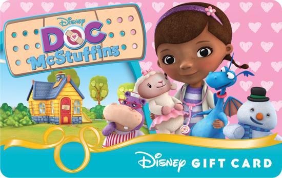 'Doc McStuffins' Disney Gift Card
