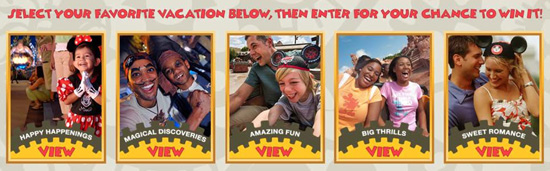 Enter the Disney Time Sweepstakes for a Chance to Receive a Disney Vacation Package