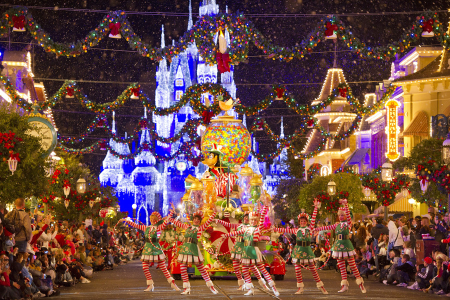 Mickey's Once Upon A Christmastime Parade - Holidays at Walt Disney World Resort