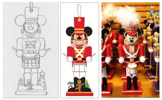 make festive mickey mouse nutcrackers part of your holiday