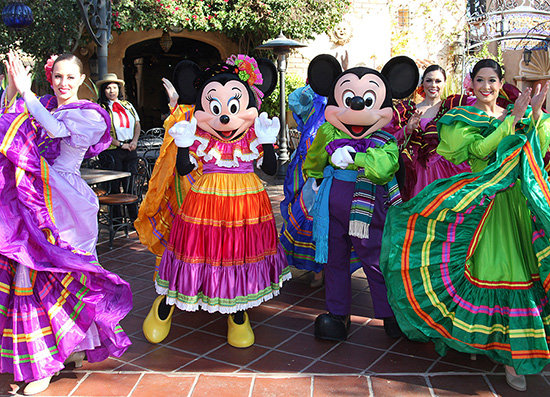 Mickey and Minnie Join In The Celebration of Three Kings Day at Disneyland Park