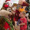 Guests Enjoy a Snowy Character Meet-and-Greet at Epcot, Thanks to Limited Time Magic