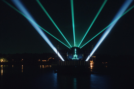 'Laserphonic Fantasy' at Epcot
