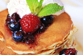 Pancakes Diaspora at Raglan Road Irish Pub & Restaurant Sunday Brunch at Downtown Disney Pleasure Island